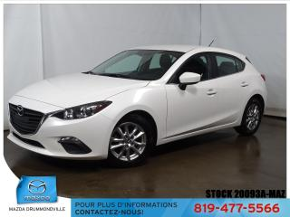 Used 2016 Mazda MAZDA3 |GS SPORT|SIEGCHAUF|MAG|CAMERA|BLUETOOTH| for sale in Drummondville, QC