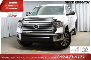 Used 2017 Toyota Tundra LIMITED  5.7L  DOUBLE CAB  RARE! for sale in Drummondville, QC
