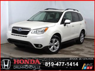 Used 2016 Subaru Forester 2.5i Touring+AWD+TOITOUV+CAMÉRA+SIEGCHAUFF for sale in Drummondville, QC