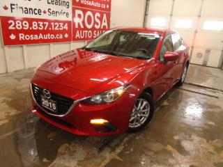 Used 2015 Mazda MAZDA3 4dr Sdn Auto WARRANTY CAMERA BLUETOOTH NEW TIRES+ for sale in Oakville, ON