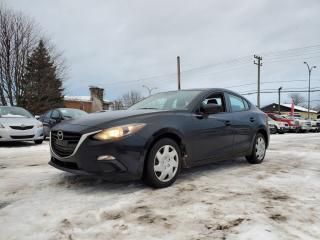 Used 2016 Mazda MAZDA3 *BAS MILLAGE* 52$/SEM for sale in St-Jérôme, QC