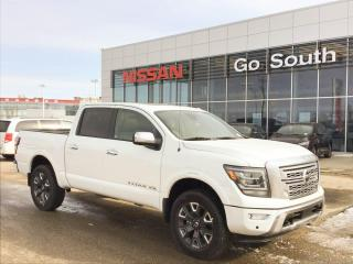 New 2020 Nissan Titan Platinum Reserve 4x4 Crew Cab 139.8 in. WB for sale in Edmonton, AB