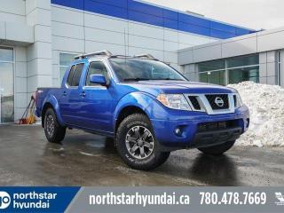 Used 2015 Nissan Frontier PRO-4X CREW/NAV/SUNROOF/LEATHER/HEATEDSEATS for sale in Edmonton, AB