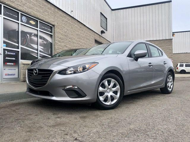 2016 Mazda MAZDA3 GX, BACK-UP CAMERA, HATCHBACK, 6SPD MANUAL!!