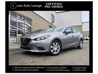 Used 2016 Mazda MAZDA3 GX, BACK-UP CAMERA, HATCHBACK, 6SPD MANUAL!! for sale in Orleans, ON