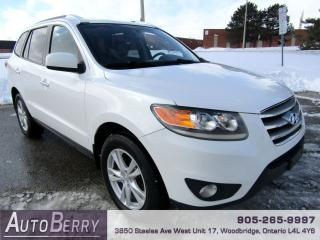 Used 2012 Hyundai Santa Fe Limited - AWD - Navi - B/Up Cam for sale in Woodbridge, ON