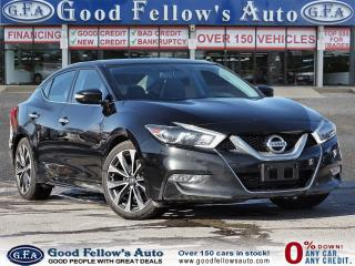 Used 2016 Nissan Maxima SR MODEL, 6CYL 3.5L, POWER SEATS,HEATED SEATS, NAV for sale in Toronto, ON
