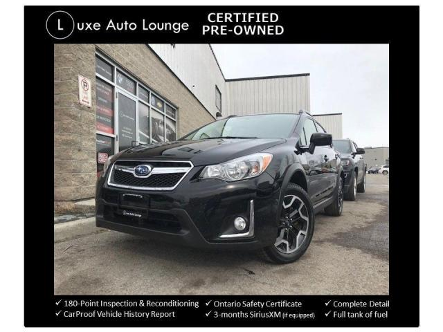 2016 Subaru Crosstrek 2.0i W/ TOURING PKG, HEATED SEATS, BACK-UP CAMERA!