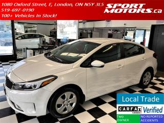 Used 2017 Kia Forte LX+Apple Play+Camera+Heated Seats+AC+Accident Free for sale in London, ON