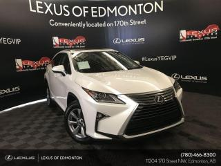 Used 2018 Lexus RX 350 Navigation Package Certified/Local/Accident Free/New Tires for sale in Edmonton, AB