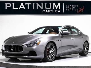 Used 2014 Maserati Ghibli S Q4, 3.0L 400HP, AWD, NAV, CAM, PUSH START for sale in Toronto, ON
