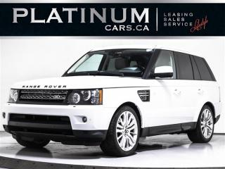 Used 2012 Land Rover Range Rover Sport HSE LUXURY, NAVIGATION, SUNROOF, BACKUP CAM for sale in Toronto, ON