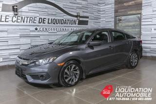 Used 2017 Honda Civic EX+TOIT+MAGS+BLUETOOTH for sale in Laval, QC