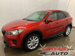 Used 2015 Mazda CX-5 GT AWD Cuir Toit ouvrant Caméra de recul Mags *Traction Intégrale* for sale in Trois-Rivières, QC