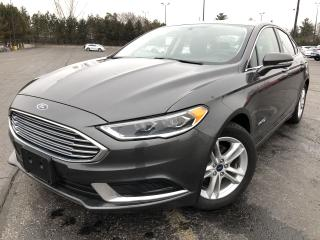 Used 2018 Ford FUSION HYBRID SE 2WD for sale in Cayuga, ON