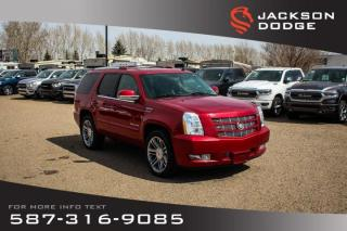 Used 2013 Cadillac Escalade - Sunroof, NAV, AWD for sale in Medicine Hat, AB