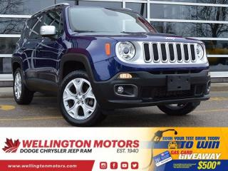 Used 2018 Jeep Renegade Limited--> One Owner --> Non-Smoking !! for sale in Guelph, ON