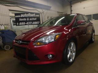 Used 2013 Ford Focus 5dr HB Titanium for sale in St-Raymond, QC