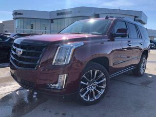 New 2020 Cadillac Escalade Premium Luxury for sale in Winnipeg, MB