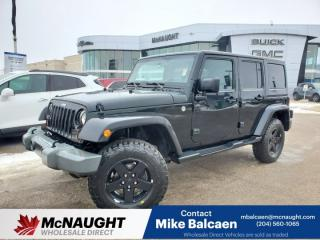Used 2012 Jeep Wrangler UNLIMITED SPORT for sale in Winnipeg, MB