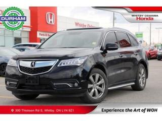 Used 2014 Acura MDX SH-AWD for sale in Whitby, ON