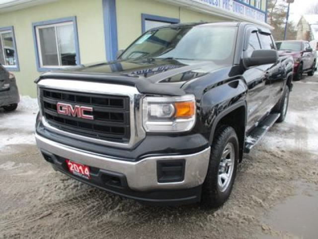 2014 GMC Sierra 1500 WORK READY SL EDITION 6 PASSENGER 4.3L - V6.. 4X4.. CREW-CAB.. SHORTY.. CD/AUX/USB INPUT.. KEYLESS ENTRY.. TOW SUPPORT..