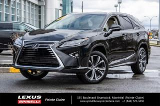 Used 2018 Lexus RX 350 **RX 350L EXECUTIVE** **6 PASSAGER*NAVIGATION*ANGLE MORT*CAMERA 360* for sale in Montréal, QC