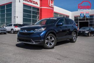 Used 2017 Honda CR-V GARANTIE LALLIER MOTO-PROPULSEUR 10ANS/200,000 KIL Z2164  BLEU for sale in Terrebonne, QC