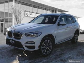Used 2019 BMW X3 xDrive30i Premium Enhanced! Local! for sale in Winnipeg, MB