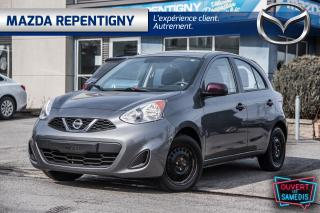 Used 2016 Nissan Micra 4dr Autom SV - 34000 km Seulem. - Autom. Électriqu for sale in Repentigny, QC