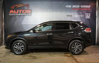 Used 2016 Nissan Rogue SL AWD CUIR TOIT PANO CAMERA 360 GPS NAV 65 382 KM for sale in Lévis, QC