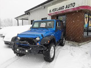 Used 2015 Jeep Wrangler 4 RM 2 portes Sport for sale in Sherbrooke, QC