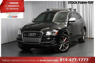 Used 2016 Audi SQ5 SQ5  CUIR ROUGE  354HP for sale in Drummondville, QC