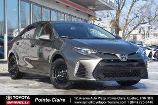 Used 2017 Toyota Corolla XSE GPS, MAGS, TOIT for sale in Pointe-Claire, QC