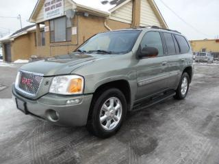 Used 2004 GMC Envoy SLT 4X4 Leather Sunroof 4.2L ONLY 178,000Km for sale in Rexdale, ON