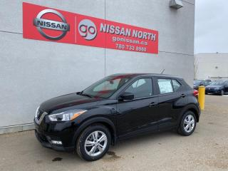 New 2020 Nissan Kicks S/PUSH START/BACK UP CAM/BLUETOOTH/WINTER TIRES for sale in Edmonton, AB