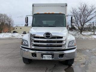Used 2019 Hino 338 24' van body with lift for sale in Kitchener, ON