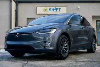 Used 2018 Tesla Model X 75D SONIC CARBON WHEELS, SUBZERO, PREMIUM, 7 PASSENGER for sale in Burlington, ON