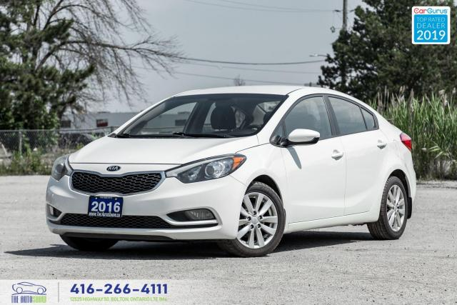 2016 Kia Forte LX|1 Owner|Clean Carfax|Keyless Entry|Heated Seats