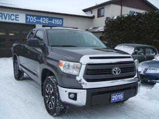 Used 2015 Toyota Tundra SR5, 5.7L V8, Double Door, TRD 4x4 Offroad for sale in Beaverton, ON