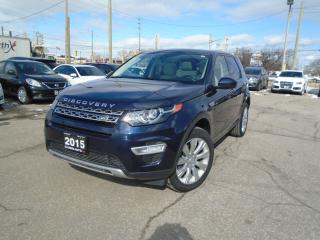 Used 2015 Land Rover Discovery Sport AWD 7PASSENGER NAVIGATION PANORAMIC B-TOOTH CAMERA for sale in Oakville, ON