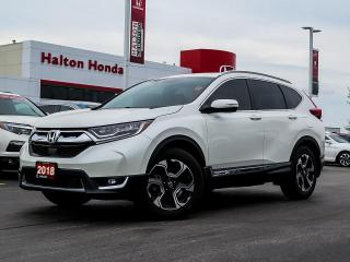 Used 2018 Honda CR-V TOURING|SERVICE HISTORY ON FILE|ACCIDENT FREE for sale in Burlington, ON