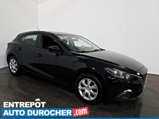 Used 2016 Mazda MAZDA3 GX AIR CLIMATISÉ - Caméra de Recul for sale in Laval, QC