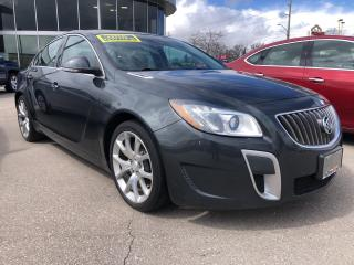 Used 2013 Buick Regal GS \ ONE OWNER \ LEATHER \ SUNROOF \ GREAT BUY \ for sale in Waterloo, ON