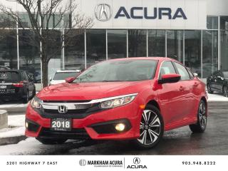 Used 2018 Honda Civic Sedan EX-T CVT for sale in Markham, ON