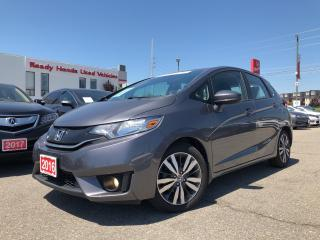 Used 2016 Honda Fit EX - Lane Watch - Sunroof - Rear Camera for sale in Mississauga, ON