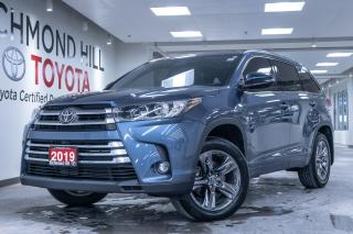Used 2019 Toyota Highlander *No Payments for 6 Months!!! - Limited for sale in Richmond Hill, ON