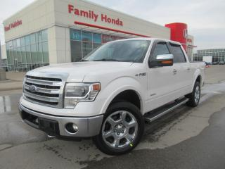 Used 2013 Ford F-150 4WD SuperCrew 145  Lariat | NAVIGATION | NEW TIRES for sale in Brampton, ON