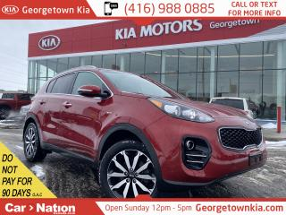 Used 2019 Kia Sportage EX | AWD | LEATHER | APPLE/ANDROID | HTD ST. WHEEL for sale in Georgetown, ON