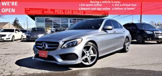Used 2016 Mercedes-Benz C-Class C300 | VIDEO.CALL.US| AWD| PANOROOF| REARVIEW| TINTED| ONE OWNER| for sale in Mississauga, ON